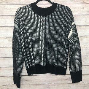 NWT | Splendid | Waffle Knit Colorblock Sweater
